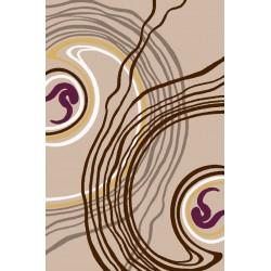 فرش روژان شکلاتی
