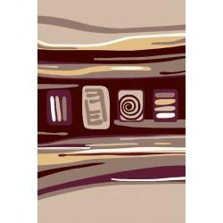 فرش هدیه شکلاتی