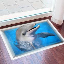 زیرپایی سه بعدی طرح دلفین