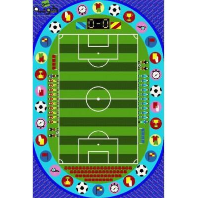 فرش ماشینی (کودک) زمین فوتبال