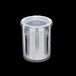 ظرف حبوبات استیل 1.5 لیتری
