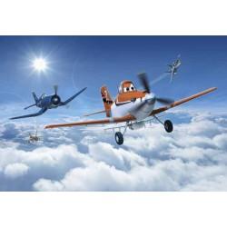 پوستر دیواری طرح هواپیماها بر فراز ابرها