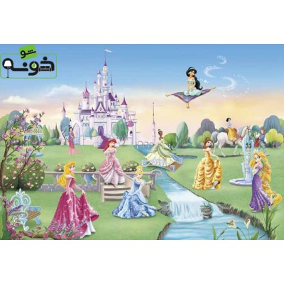 پوستر دیواری طرح قصر پرنسس ها