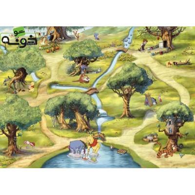 پوستر دیواری طرح جنگل «اشداون»