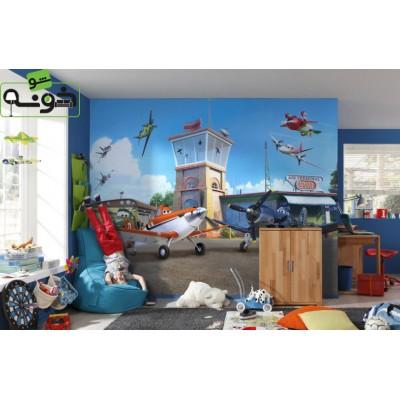 پوستر دیواری طرح ترمینال هواپیماها