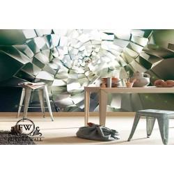 پوستر سهبعدی فیوچروال Future wall طرح شیشه