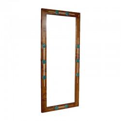 آینه چوبی ایستاده طرح شمس کد 2677