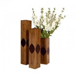گلدان چوبی عباسی