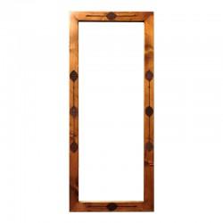 آینه قدی عباسی قهوهای