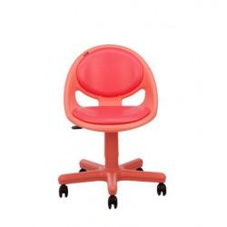 صندلی مطالعه کودک نیلپر رنگ قرمز