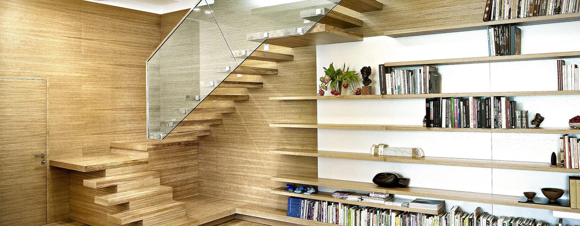 طراحی خاص از پلکان