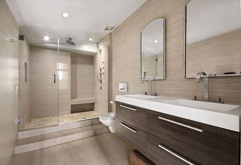 حمام مدرن در قلب شهر نیویورک