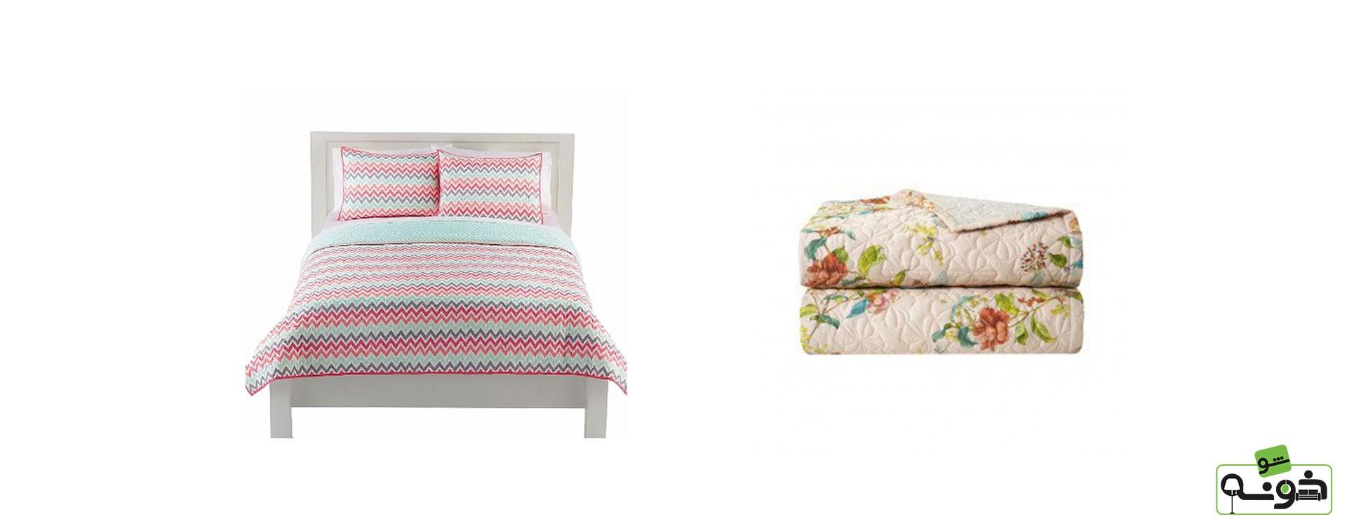 انتخاب روتختی مناسب را در زیبایی دکوراسیون اتاق خواب نادیده نگیرید
