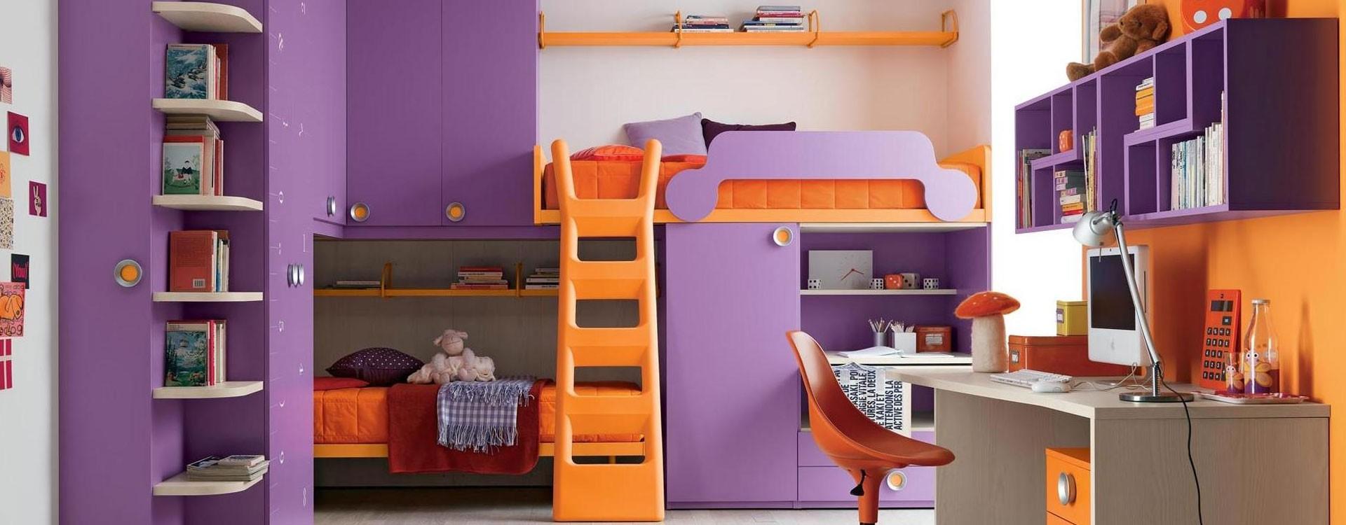 زیباترین مدل های دکوراسیون اتاق کودک از چه المان های تشکیل می شود.
